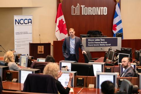NCCA Canada hosts Business Communication Conference at Toronto City Hall