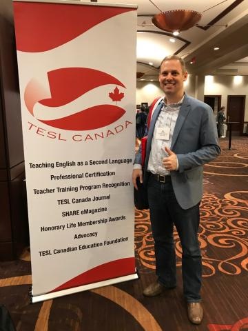 Ric Phillips at TESL Canada Conference 2017